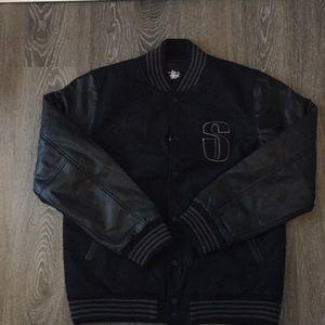 Stussy World Tour Varsity Jacket